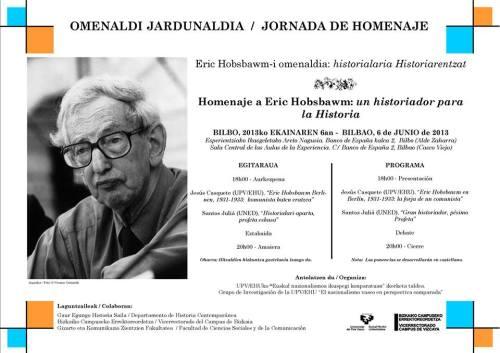 Jornada de homenaje a Eric Hobsbawm