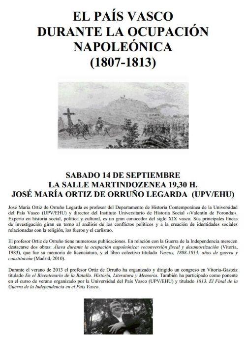 El País Vasco y la guerra de la Independencia