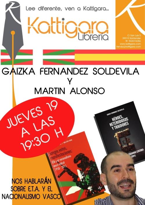 Diálogo sobre ETA y el nacionalismo vasco este jueves en Santander