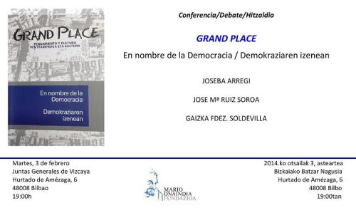 invitacion grand place