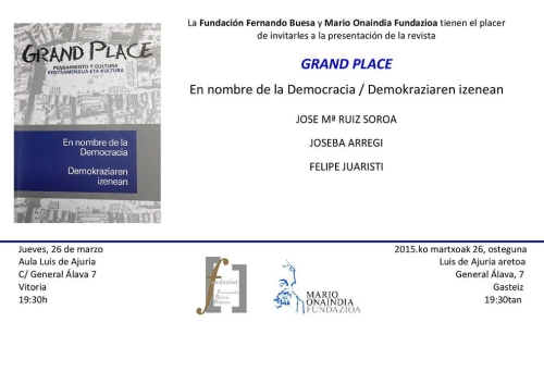 invitacion grand place vitoria