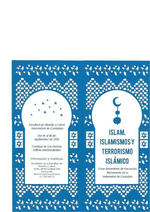 Programa Islamismo 2015