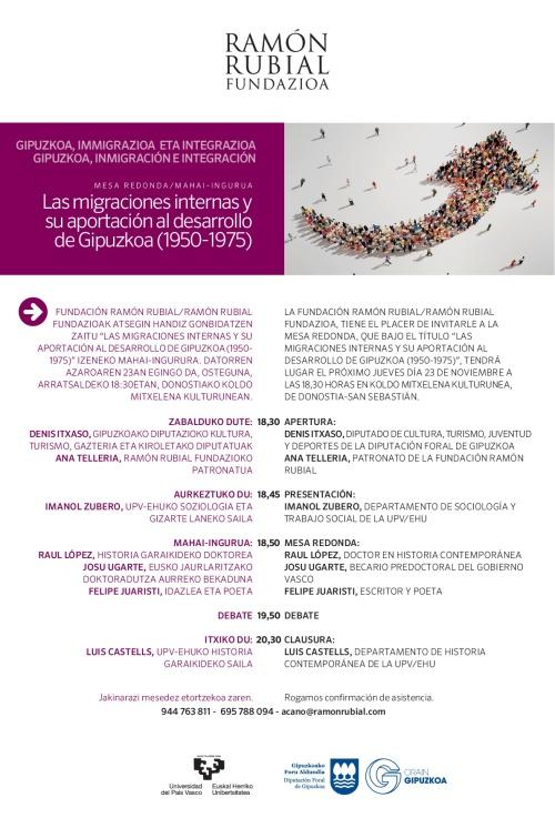 INVITACION MESA REDONDA LAS MIGRACIONES INTERNAS Y SU APORTACION AL  DESARROLLO DE GIPUZKOA  23 NOVIEMBRE 18,30 HORAS KOLDO MITXELENA DE  DONOSTIA (1)-001.jpg