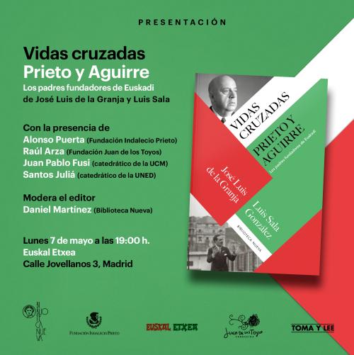 Presentación del libro Vidas cruzadas en Madrid